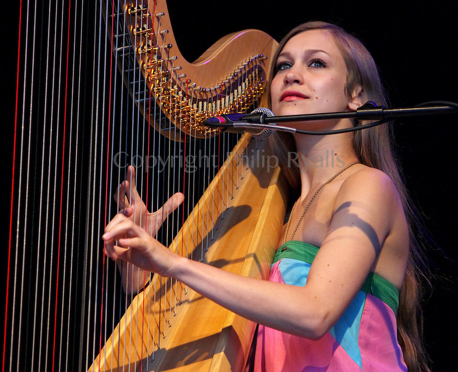 Joanna Newsom, Somerset House, London, 20th July 2008