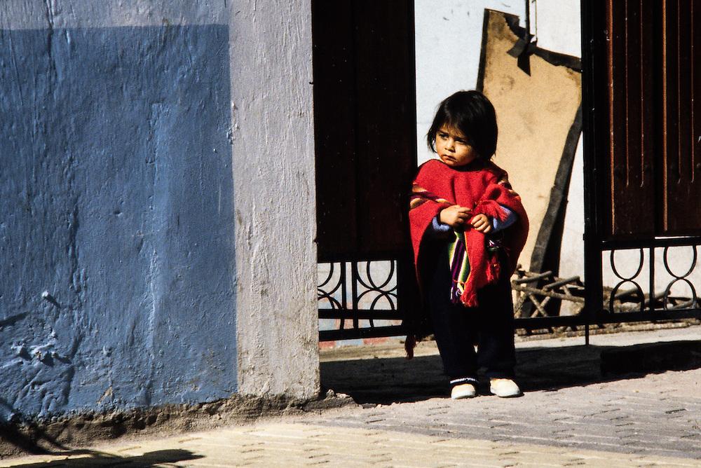 i Riobamba i Ecuador