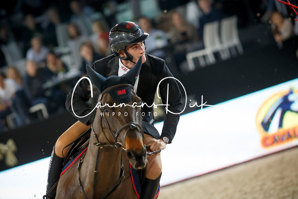Team Jingle Boys, Philippaerts Olivier, Pink Panther, Lorenzo de Luca, Silverstar <br /> Fancy Dress<br /> Vlaanderen Kerstjumping - Memorial Eric Wauters - <br /> Mechelen 2015<br /> © Hippo Foto - Dirk Caremans<br /> 29/12/15