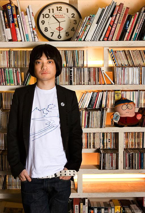 Keigo Oyamada (小山田 圭吾 Oyamada Keigo, born January 27, 1969) is a Japanese recording artist and producer better known by his stage name Cornelius (CORNELIUS(コーネリアス)).