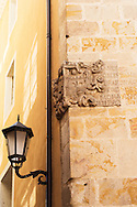 Detail in the streets of Zamora