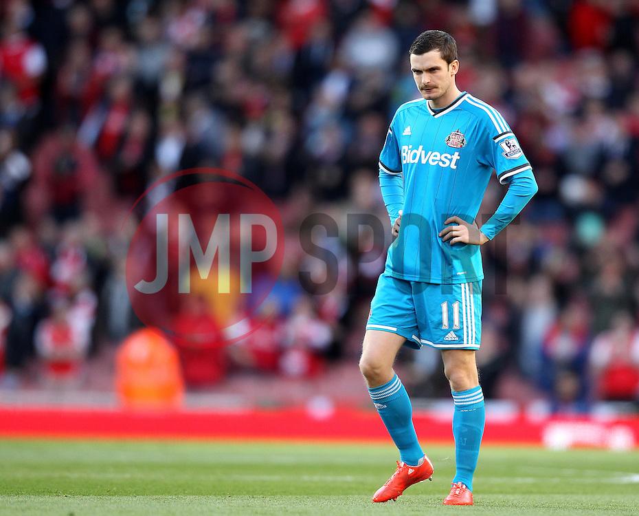 Sunderland's Adam Johnson - Photo mandatory by-line: Robbie Stephenson/JMP - Mobile: 07966 386802 - 20/05/2015 - SPORT - Football - London - Emirates Stadium - Arsenal v Sunderland - Barclays Premier League
