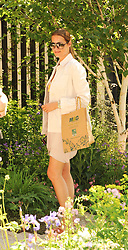 Th 2010 Royal Horticultural Society Chelsea Flower show in the grounds of Royal Hospital Chelsea, London on 24th May 2010.<br /> <br /> Picture shows:-YASMIN LE BON