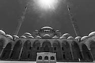 Turkey. Istambul. Suleymaniye mosque.