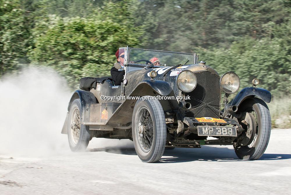 Car 50. 1927 Bentley Open Tourer.