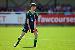 NEWPORT, WALES - Wednesday, July 25, 2018: Rhydian Williams during the Welsh Football Trust Cymru Cup 2018 at Dragon Park. (Pic by Paul Greenwood/Propaganda)