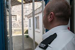 Prison officer in Segregation unit, HMP Barlinnie, Glasgow
