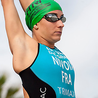 Catania (ITA), 25/10/15  - Julie Nivoix (FRA) at 2015 Catania ETU Triathlon European Cup and Mediterranean Championships, Elite Women Race  (Ph. Riccardo Giardina)