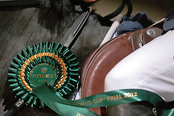 Rolex Rosette<br /> Rolex FEI World Cup™ Jumping Final 2012<br /> 'S Hertogenbosch 2012<br /> © Dirk Caremans