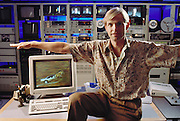 "Carl Rosendahl, founder of Pacific Data Images (PDI). His company does computer animation and digital film effects: morphing. 1992 at the office in Sunnyvale, California. In 1996 PDI began collaborating with DreamWorks SKG, which then acquired PDI in 2004. Creating believable 3D animated characters (War Games) and seamless transformations known as morphing (""Black and White"" and ""She's Mad""), PDI has been at the forefront of computer imagery. The studio pushed the boundaries of morphing in Michael Jackson's video ""Black or White"" with a sequence of twelve dynamic transformations of moving characters. In the innovative David Byrne video ""She's Mad,"" PDI pioneered the technology called performance animation, capturing the motion of David Byrne and infusing an animated character with his distinctive motion."