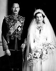 The Duke and Duchess of Gloucester on their wedding day. Princess Alice, formerly the Duchess of Gloucester, will celebrate her 100th birthday on Christmas Day 2001.   * Princess Alice, the Queen's aunt and dowager Duchess of Gloucester longevity is surpassed within the Royal Family by only the Queen Mother who is 17 months her senior. * 19/08/2003: Princess Alice, the Queen's 101-year-old aunt, who becomes the oldest British Royal in history tomorrow, Wednesday August 20, 2003. The dowager Duchess of Gloucester overtakes the Queen Mother's record longevity with a lifespan of 37,128 days. Born on Christmas Day 1901, Alice was 17 months younger than the Queen Mother when the widow of George VI died on March 30, 2002.