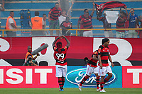 20120401: MACAE, BRAZIL - Player Wagner Love from Flamengo celebrates goal during Flamengo Vs Bangu match for Campeoonato Carioca (Carioca cup) held at Moacyrzao stadium <br /> PHOTO: CITYFILES