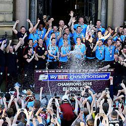 Burnley FC Championship Trophy Presentation