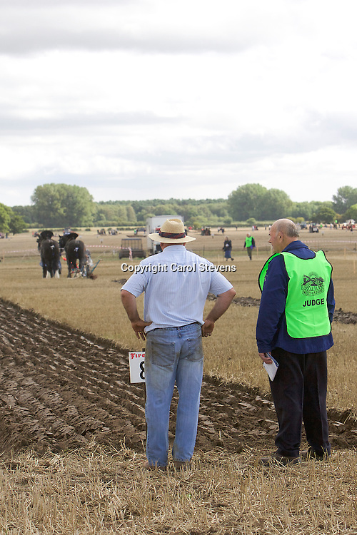 National Horse Ploughing Competition and Demonstrations 2016<br /> Jim Elliott and Hugh Ramsay