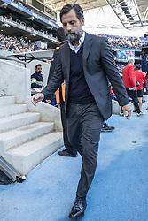 November 19, 2017 - Barcelona, Catalonia, Spain - RCD Espanyol coach Quique Sanchez Flores () during the match between RCD Espanyol vs Valencia CF, for the round 12 of the Liga Santander, played at RCD Espanyol Stadium on 19th November 2017 in Barcelona, Spain. (Credit Image: © Urbanandsport/NurPhoto via ZUMA Press)