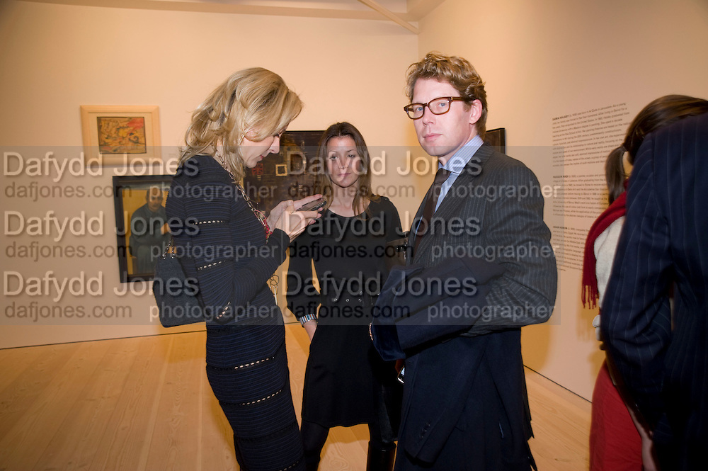 MICHAELA NEUMEISTER; CONSTANCE DOMBERNOWSKY; FINN DOMBERNOWSKY, Unveiled; New art from the Middle East. The Saatchi Gallery in partnership with Phillips de Pury. Saatchi Gallery. King's Rd. London. 29 January 2009 *** Local Caption *** -DO NOT ARCHIVE-© Copyright Photograph by Dafydd Jones. 248 Clapham Rd. London SW9 0PZ. Tel 0207 820 0771. www.dafjones.com.<br /> MICHAELA NEUMEISTER; CONSTANCE DOMBERNOWSKY; FINN DOMBERNOWSKY, Unveiled; New art from the Middle East. The Saatchi Gallery in partnership with Phillips de Pury. Saatchi Gallery. King's Rd. London. 29 January 2009