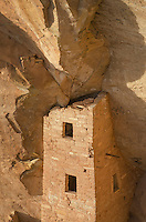 Square Tower House ruins, Mesa Verde National Park, Colorado