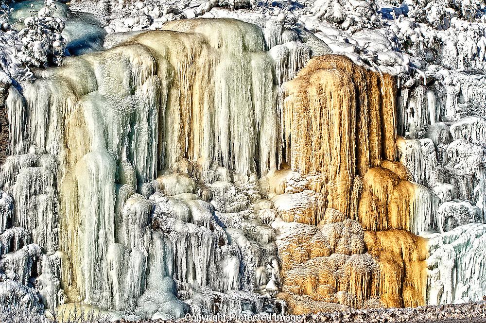 Yoho icicles., British Columbia, canada, Isobel Springett