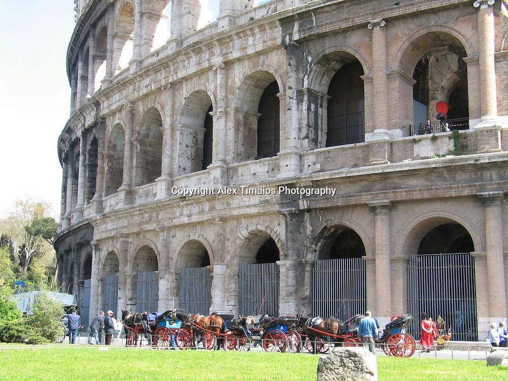 The roman colloseum
