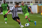 Forest Green Rovers Joseph Mills(23) runs forward during the Pre-Season Friendly match between Bath City and Forest Green Rovers at Twerton Park, Bath, United Kingdom on 27 July 2019.
