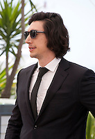 Actor Adam Driver,<br /> at the Paterson film photo call at the 69th Cannes Film Festival Monday 16th May 2016, Cannes, France. Photography: Doreen Kennedy