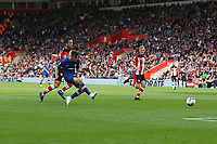 Football - 2019 / 2020 Premier League - Southampton vs. Chelsea<br /> <br /> Mason Mount of Chelsea shoots narrowly wide during the first half at St Mary's Stadium Southampton<br /> <br /> COLORSPORT/SHAUN BOGGUST