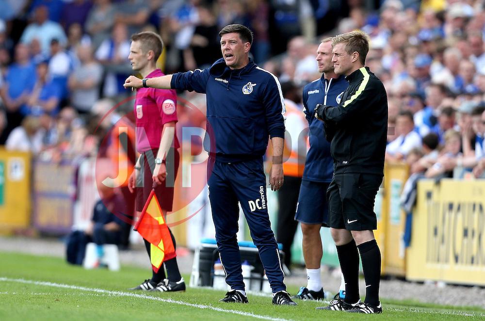 Darrell Clarke manager of Bristol Rovers - Mandatory by-line: Robbie Stephenson/JMP - 14/08/2016 - FOOTBALL - Memorial Stadium - Bristol, England - Bristol Rovers v Oxford United - Sky Bet League One