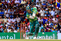 July 28, 2018 - Dambulla, Sri Lanka - South African cricket captain..Faf Du Plessis during the 1st One Day International cricket match between Sri Lanka and South Africa at Rangiri Dambulla International Stadium, Dambulla, Sri Lanka on Sunday 29 July 2018  (Credit Image: © Tharaka Basnayaka/NurPhoto via ZUMA Press)
