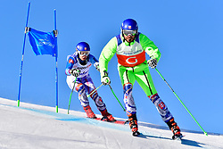 HARAUS Miroslav Guide: HUDIK Maros, B2, SVK, Giant Slalom at the WPAS_2019 Alpine Skiing World Cup, La Molina, Spain