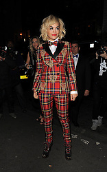 Rita Ora attends Rimmel London 180th anniversary party at held at the London Film Museum in London, UK. 10/10/2013<br />BYLINE MUST READ : GOTCHAIMAGES.COM<br /><br />Copyright by © Gotcha Images Ltd. All rights reserved.<br />Usage of this image is conditional upon the acceptance <br />of Gotcha Images Ltd, terms and conditions available at<br />www.gotchaimages.com