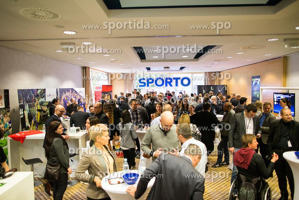 Entertainment room during Sports marketing and sponsorship conference Sporto 2015, on November 19, 2015 in Hotel Slovenija, Congress centre, Portoroz / Portorose, Slovenia. Photo by Vid Ponikvar / Sportida