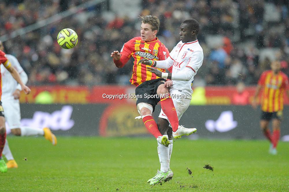 Benjamin Bourigeaud - 07.12.2014 - Lens / Lille - 17eme journee de Ligue 1<br />Photo : Andre Ferreira / Icon Sport
