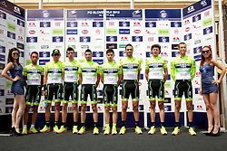 Team Ferenese Vini during 1st Stage (164 km) at 19th Tour de Slovenie 2012, on June 14, 2012, in Celje, Slovenia. (Photo by Urban Urbanc / Sportida)