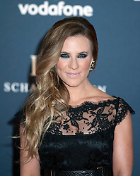 © Licensed to London News Pictures. 06/02/2012. London, UK. TV Presenter Georgie Thompson  arriving on the red carpet for the Laureus World Sports Awards 2012. Dozens of sports and Hollywood celebrities arrived in the English capital to attend the event held at the Queen Elizabeth II Conference Centre in the same year that London will host the Olympic Games. Photo credit : Ben Cawthra/LNP