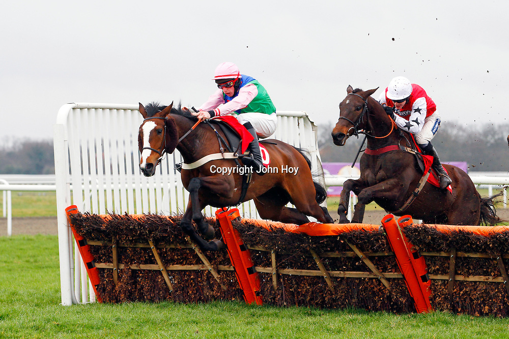 Colonel Alf and Duaiseoir running in the 1.45 race