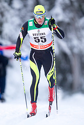30.11.2014, Nordic Arena, Ruka, FIN, FIS Weltcup Langlauf, Kuusamo, 15 km Herren, im Bild Antti Lampinen (FIN) // Antti Lampinen of Finland during Mens 15 km Cross Country Race of FIS Nordic Combined World Cup at the Nordic Arena in Ruka, Finland on 2014/11/30. EXPA Pictures © 2014, PhotoCredit: EXPA/ JFK