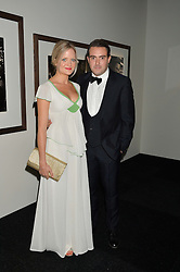 LOUIS & LADY ELOISE WAYMOUTH at the IWC Schaffhausen Gala Dinner in honour of the British Film Institute held at the Battersea Evolution, Battersea Park, London on 7th October 2014.