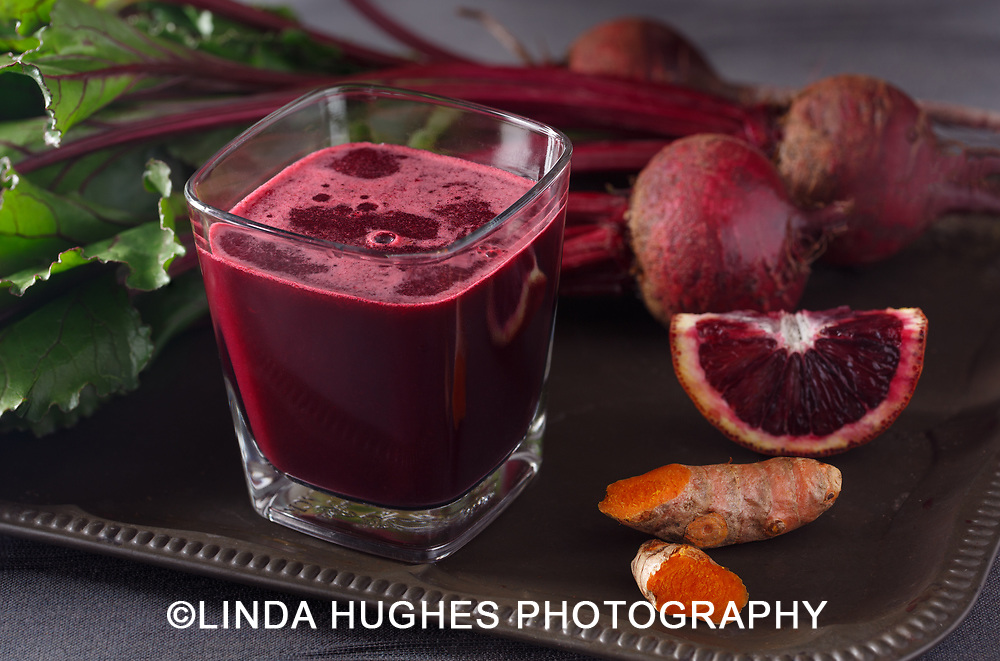 Beet Juice with Turmeric Root and Blood Orange