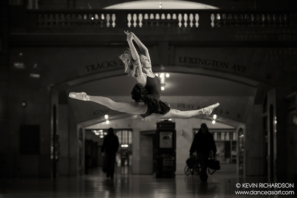 Dance As Art The New York City Photography Project Grand Central Terminal Series with dancer Jaydn Reid