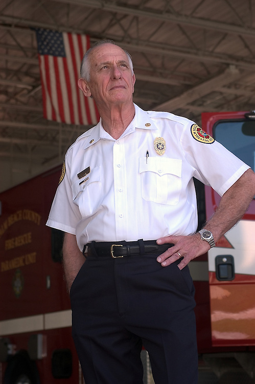 Herman Brice, Fire Chief,  Palm Beach County