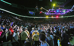 East Rutherford, NJ - May 05, 2012: View of Entrance walk during UFC on FOX 3 at the Izod Center in East Rutherford, New Jersey.
