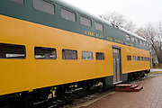 Wisconsin USA, the national railroad museum at Green Bay, WI. Chicago & Northwestern (C&NW) November 2006