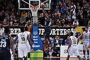 Hogue Dustin<br /> Dolomiti Energia Trento - Vanoli Cremona<br /> Lega Basket Serie A 2016/2017<br /> Trento 09/10/2016<br /> Foto Ciamillo-Castoria