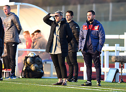 Tanya Oxtoby manager of Bristol City Women looks on - Mandatory by-line: Paul Knight/JMP - 17/11/2018 - FOOTBALL - Stoke Gifford Stadium - Bristol, England - Bristol City Women v Liverpool Women - FA Women's Super League 1