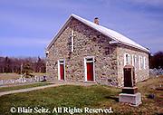 PA Historic Places, Rural Historic Stone Church, Central Pennsylvania