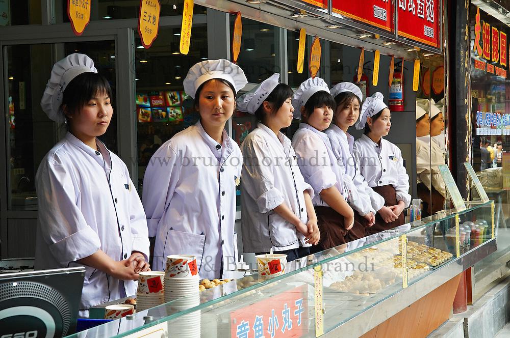 Chine, Shanghai, Nanshi l'ancienne ville chinoise, restaurant. // China, Shanghai, Nanshi the old chinese city, Restaurant.