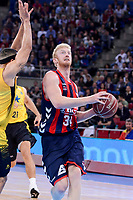 Baskonia's Chase Budinger during Quarter Finals match of 2017 King's Cup at Fernando Buesa Arena in Vitoria, Spain. February 16, 2017. (ALTERPHOTOS/BorjaB.Hojas)
