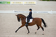 Ester Soldi - Harmonia<br /> Alltech FEI World Equestrian Games™ 2014 - Normandy, France.<br /> © DigiShots