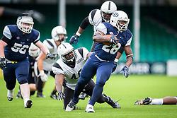 ondon Blitz running back in action - Mandatory by-line: Jason Brown/JMP - 27/08/2016 - AMERICAN FOOTBALL - Sixways Stadium - Worcester, England - London Warriors v London Blitz - BAFA Britbowl Finals Day