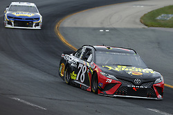 July 22, 2018 - Loudon, New Hampshire, United States of America - Martin Truex, Jr (78) brings his car through the turns during the Foxwoods Resort Casino 301 at New Hampshire Motor Speedway in Loudon, New Hampshire. (Credit Image: © Chris Owens Asp Inc/ASP via ZUMA Wire)